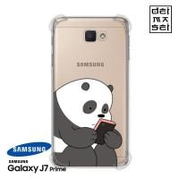Casing We Bare Bears Panda 1 Samsung Galaxy J5 J7 Prime Pro Anti Crack
