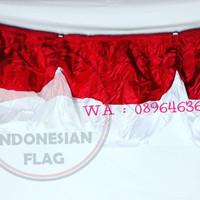 bendera backdrop ataau background merah putih   10 m   termurah