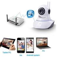 Ip Camera Wifi Security Double Antena p2p Two Way Audio HD 720p