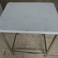 Meja Stainless grosir kecil kuat dan tahan lama