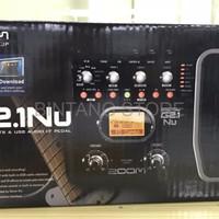 HOT DEAL Effect gitar guitar efek ZOOM G2 1Nu G21NU g2 1 Nu