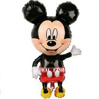 balon foil mickey mouse jumbo 80 cm / balon mickey mouse badan