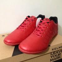 Sepatu Futsal Kelme Star 9 Red Black 5501-02 Original BNIB