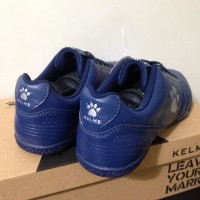 Sepatu Futsal Kelme Power Grip Navy Silver 1102107 Original BNIB