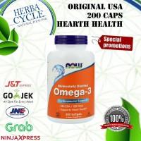 Now Foods, Omega-3, 180 EPA/120 DHA, 200 Softgels