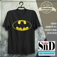 Baju Kaos Black Betman Superhero Marvel Avanger Pria Wanita