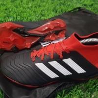 Soccer Adidas Predator 18.1 FG - Black Red