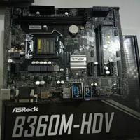 ASROCK B360M HDV (LGA1151,COFFELAKE)