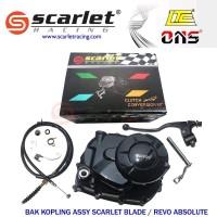 Bak kopling Scarlet Manual Honda Blade Revo 115 Absolute fit No