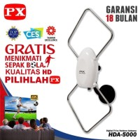 PX HDA-5000 ANTENA DALAM / LUAR TV DIGITAL LED INDOOR DVBT2 HDA 5000
