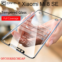 XIAOMI MI8 SE / MI 8 SE - CAFELE TEMPERED GLASS 4D HITAM FULL COVERAGE