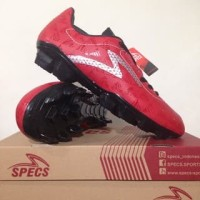 NAO katalog terbaru Sepatu Bola Specs Quark FG Chestnut Red 100757 Ori
