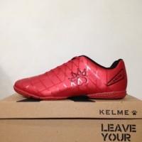 NAO katalog terbaru Sepatu Futsal Kelme Star 9 Red Black 5501-02 Origi