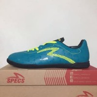 NAO katalog terbaru Sepatu Futsal Specs Quark IN Tosca Solar Slime 400