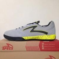 NAO katalog terbaru Sepatu Futsal Specs Metasala Rival Palona Grey Sli