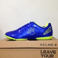 NAO katalog terbaru Sepatu Futsal Kelme Star 9 Royal Blue 5501-11 Orig