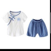 Setelan bayi model baju tradisional cina