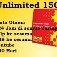 Kartu perdana paket data internet Indosat ooredoo UNLIMITED 15 GB