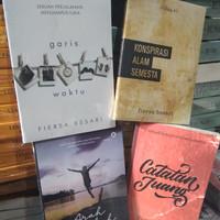 PAKET 4 BUKU FIERSA BESARI - ARAH LANGKAH - CATATAN JUANG - DLL