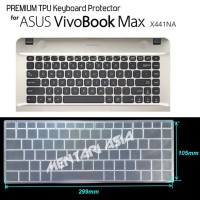 Keyboard Protector ASUS Vivobook MAX X441NA - PREMIUM TPU Clear