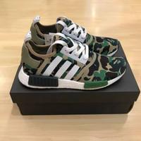 Adidas NMD R1 x Bape Real UA BASF Boost Perfect Quality Camo Green