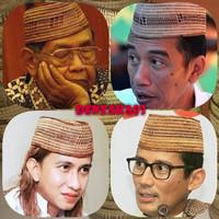 Songkok Kopeah Peci Gusdur Habib Bahar n Jokowi Akar Mintu Gorontalo