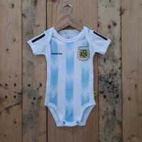 Baju bayi / Baby Jumper / Jersey Bola Bayi Argentina Piala Dunia 2018