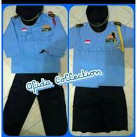 Baju TNI Angkatan Udara Anak/Baju Karnaval Profesi Anak/Baju Size 2-3
