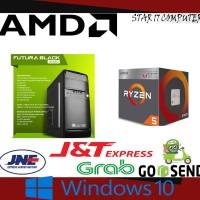 PC RAKITAN RYZEN 5 2400G / 8GB / 1TB / VGA RX550 - 4GB / DOTA 2 PUBG