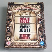 Baz Luhrman Collection Blu Ray Moulin Rouge Romeo Juliet
