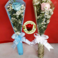 Bunga Mawar Tangkaian | Buket Bunga | Bunga Wisuda