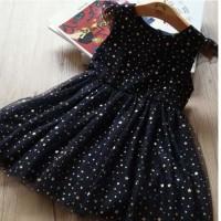 Dress Tutu Warna Biru Dongker Baju Terusan Anak Perempuan Gaun Pesta