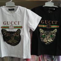 Baju anak tanggung laki import branded kaos tee top gucci cat manik
