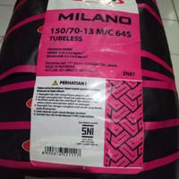 Ban Zeneos 150/70-13 Milano Tubeless Belakang Nmax