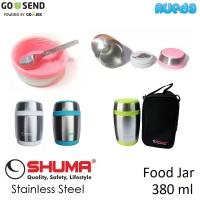 Shuma Food Jar 380ml Termos Stainless Makanan Bayi Panas Dingin