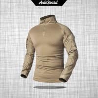 baju tactical kaos tangan panjang baju BDU Combat Shirt model import