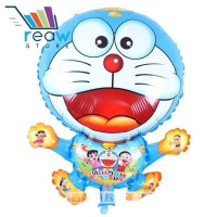 Balon Foil Plastik Doraemon