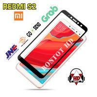 Xiaomi Redmi S2 Tempered Glass Warna Full Layar HP Anti Gores Kaca S 2