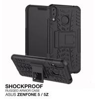 Asus Zenfone 5 5z 2018 Rugged Armor Bumper Hard Soft Case Casing Cover