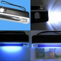 Alat deteksi uang palsu / Portable Money Detector / Handy dan Mini