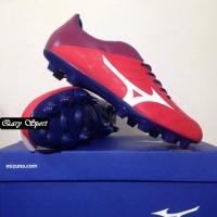 Harga Termurah Sepatu Bola Mizuno Rebula V4 High Red White Blue P1GA18