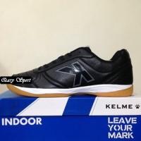 Harga Termurah Sepatu Futsal Kelme K-Strong Black Negro 55787 Original