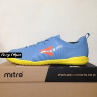 Harga Termurah Sepatu Futsal Mitre Optimize IN Dark Lead Orange T01040