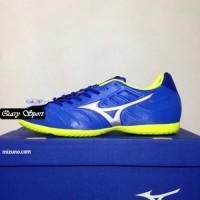 Harga Termurah Sepatu Futsal Mizuno Rebula V3 IN Strong Blue P1GF18850