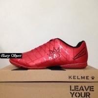 Harga Termurah Sepatu Futsal Kelme Star 9 Red Black 5501-02 Original B