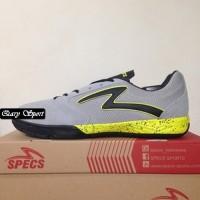 Harga Termurah Sepatu Futsal Specs Metasala Rival Palona Grey Slime 40