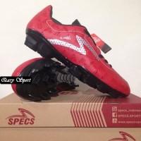 Harga Termurah Sepatu Bola Specs Quark FG Chestnut Red 100757 Original