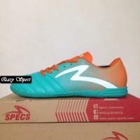 Harga Termurah Sepatu Futsal Specs Equinox IN Comfrey Green Orange 400
