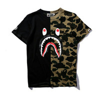 T Shirt A Bathing Ape Shark Camo BAPE MIRROR QUALITY 1:1 LIKE ORIGINAL
