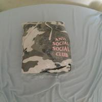 Hoddie anti social-social club camo